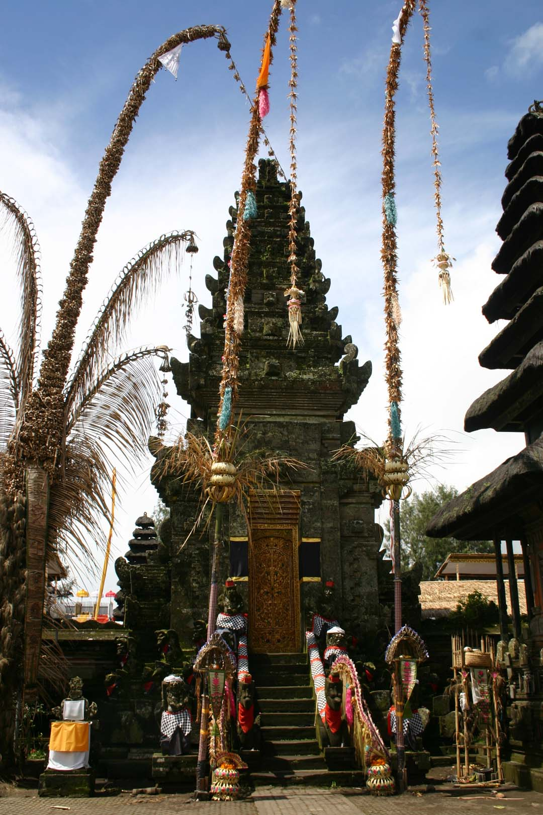 Hindu Temple in Ubud, Bali, Indonesia
