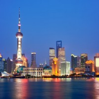 Shanghai view of Pudong