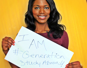 Photo of Gilman alumna for IIE Generation Study Abroad