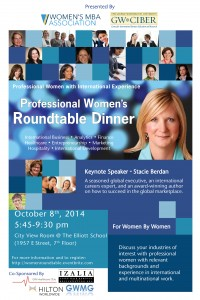Professional Women's Roundtable Dinner