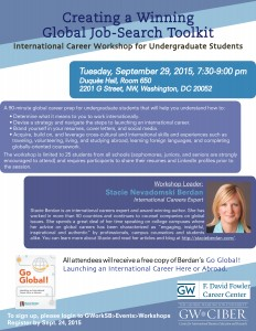 Undergraduate Workshop 2015