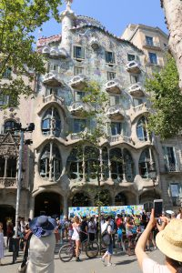 Antoni Gaudí's presence is felt all over the streets of Barcelona from the many buildings he restored and remodelled like Casa Batlló.
